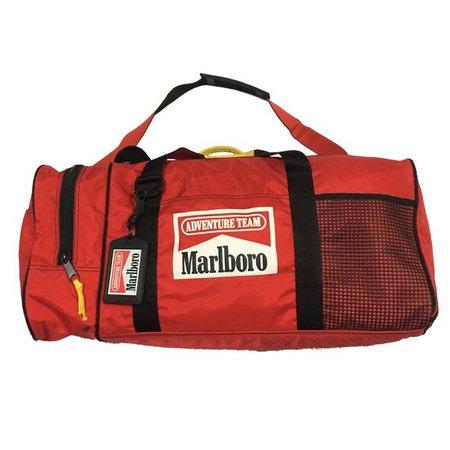 Vintage Marlboro Duffel Bag Free Shipping | Etsy