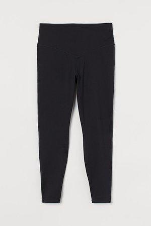H&M+ Super High Waist Leggings - Black