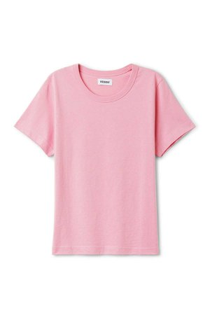 Kate T-Shirt - Dusty Pink - Tops - Weekday GB