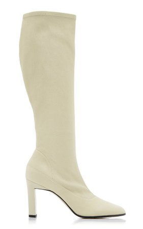 Lesly Leather Tall Boots By Wandler   Moda Operandi
