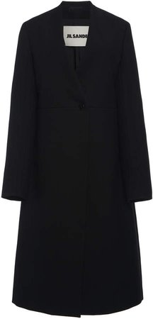 Jil Sander Magnus Wool Coat Size: 34