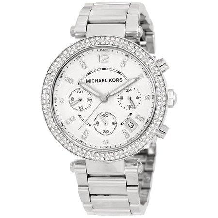 MK watch silver