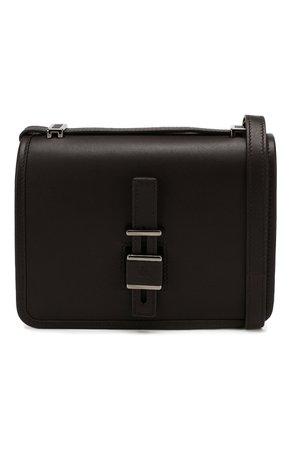 Женская темно-коричневая сумка lock in LORO PIANA — купить за 162000 руб. в интернет-магазине ЦУМ, арт. FAI7676