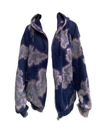 acid nike hoodie