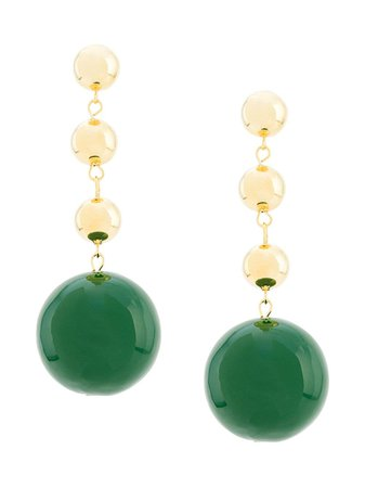 Eshvi Ball Drop Earrings - Farfetch