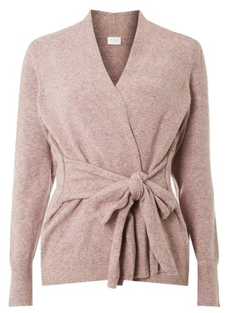 **Vila Pink Knitted Cardigan - Sweaters - Clothing - Dorothy Perkins United States