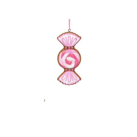 Christmas Decoration Candy Cane Pink   Gingerbread House