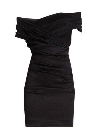 black mini dress dolce and Gabbana