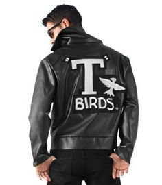 t birds jacket grease - Google Search