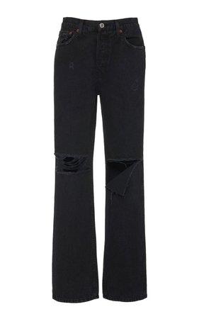 High-Rise Straight-Leg Jeans by Re/done | Moda Operandi