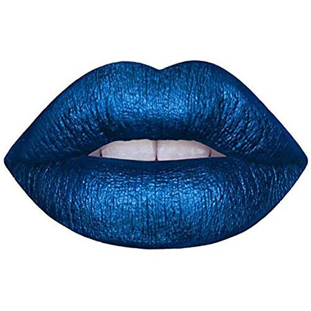 Matte Blue Lipstick