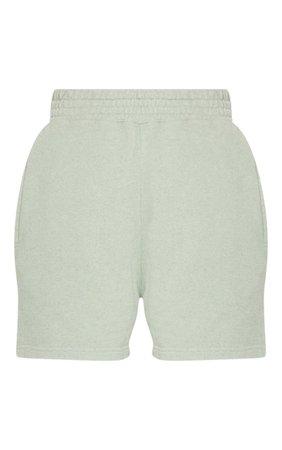 Mint Sweat Pocket Shorts | PrettyLittleThing USA