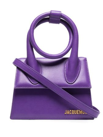 Shop Jacquemus Le Chiquito Noeud leather mini bag with Express Delivery - FARFETCH
