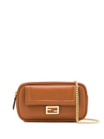 Fendi Easy 2 Baguette Leather Shoulder Bag - Farfetch