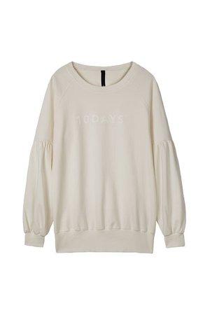 sweater 100% cotton