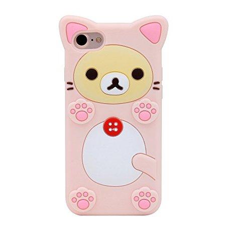 Pink Bear Rilakkuma Phone Case
