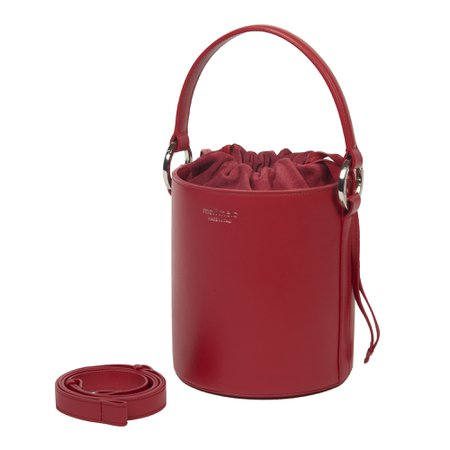 Santina Mini | Bucket Bag | Red – meli melo Official