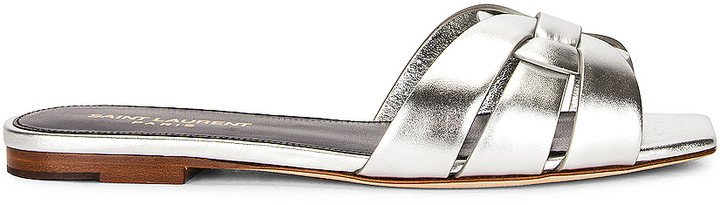 Nu Pieds Sandals in Silver | FWRD