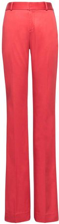 Logan Trouser-Fit Stretch Sateen Pant
