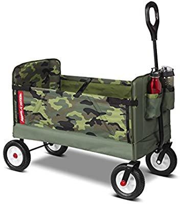 Amazon.com: Radio Flyer 3-in-1 Camo Wagon: Toys & Games