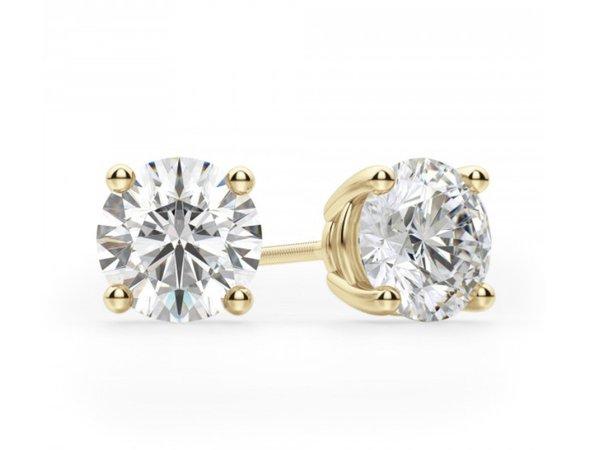 edleina Gold diamond earring