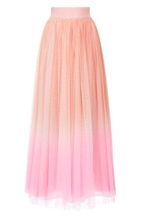 Женская розовая юбка-макси ALICE + OLIVIA — купить за 76950 руб. в интернет-магазине ЦУМ, арт. CG002A84307