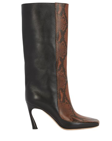 Jimmy Choo Mabyn 85 Leather Boots | INTERMIX®