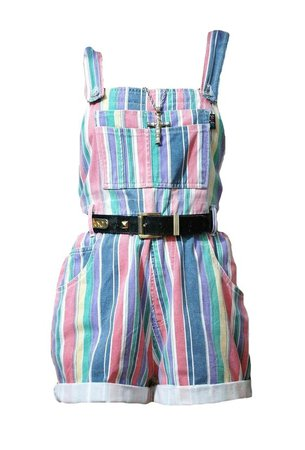 rainbow overalls