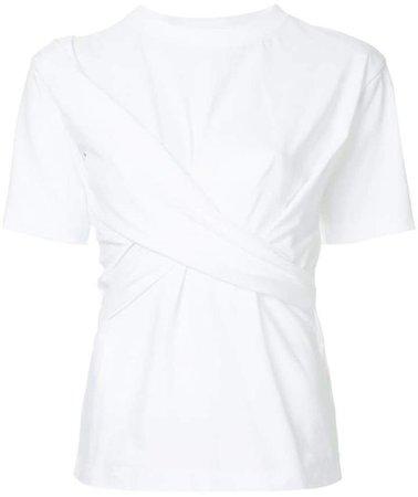 Victoria draped front T-shirt