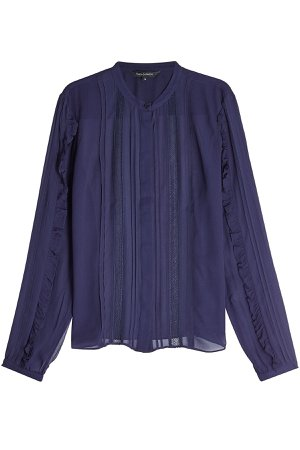 Blouse with Ruffles Gr. FR 42