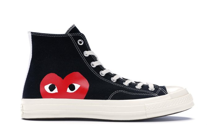 sneakers converse comme de garcons