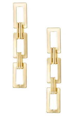 Ettika Rectangle Drop Earrings | Nordstrom