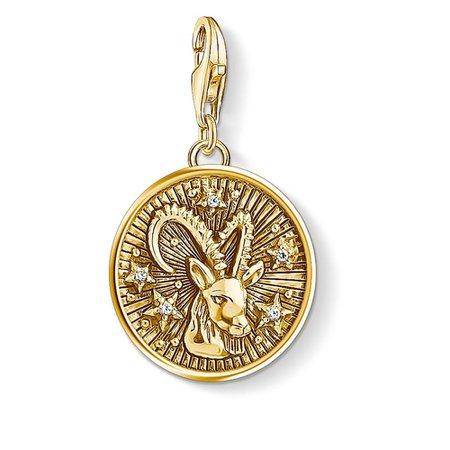 "Charm Pendant ""Zodiac Sign Capricorn"" – 1661 – THOMAS SABO Australia"