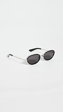 Area Linda Farrow X Area Sunglasses | SHOPBOP