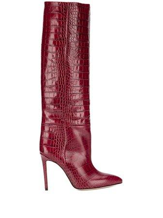 Paris Texas croc-effect boots £525 - Shop Online - Fast Delivery, Free Returns