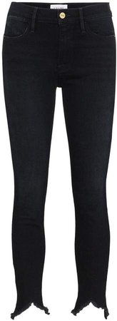 Le High triangle skinny jeans