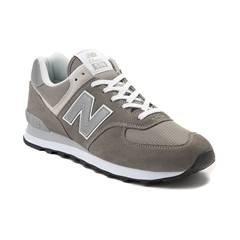 Womens New Balance 574 Classic Athletic Shoe - white - 401657
