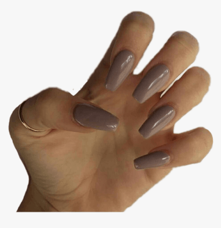 83-839882_clip-art-aesthetic-nails-purple-grey-acrylic-nails.png (860×889)
