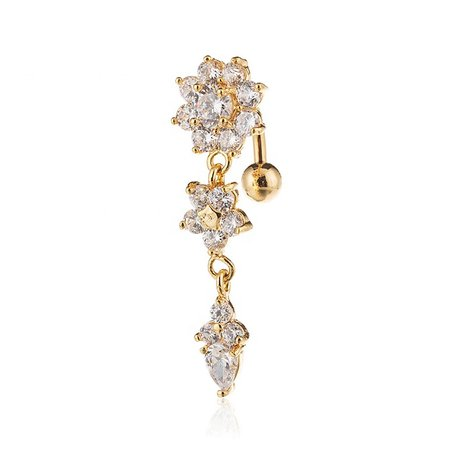Gold Flower India Belly Chain Piercing Body Jewelry Sexy Navel Belly Rings - Buy India Belly Chain Piercing,Gold Belly Chain,Sexy Belly Chain Product on Alibaba.com