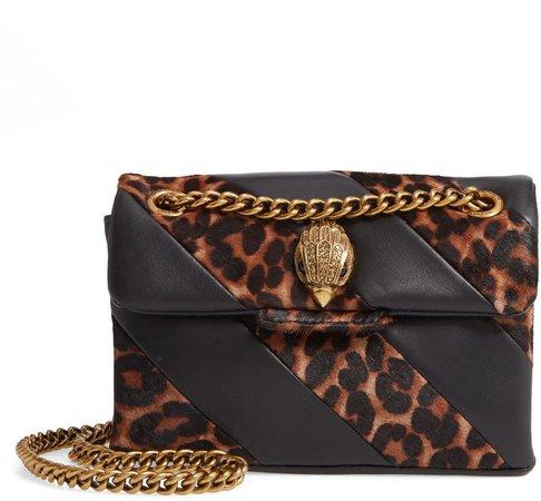 Mini Soho Leather & Genuine Calf Hair Shoulder Bag