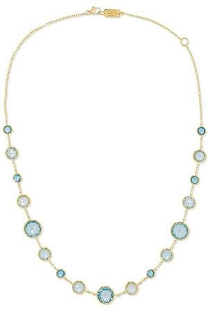 Ippolita   Lollipop Lollitini 18-karat gold topaz necklace   NET-A-PORTER.COM