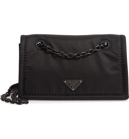 Prada Chain Flap Crossbody Bag | Nordstrom