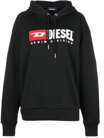 Denim Vision logo hoodie