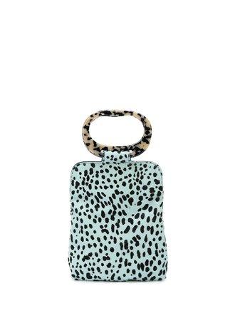 Edie Parker Dalmatian Print Clutch Bag - Farfetch