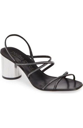 Pedro Garcia Xanat Embellished Disco Sandal (Women) | Nordstrom