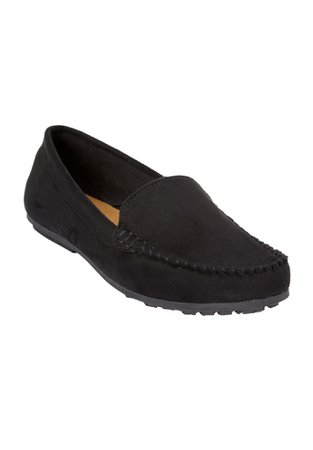 The Milena Moccasin by Comfortview®  Plus Size Flats   Full Beauty