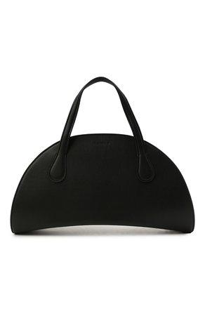 Женская черная сумка moon NANUSHKA — купить за 61700 руб. в интернет-магазине ЦУМ, арт. WISEM00N_BLACK_VEGAN NAPPA