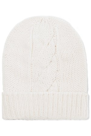 Majestic Filatures | Cable-knit wool and cashmere-blend beanie | NET-A-PORTER.COM