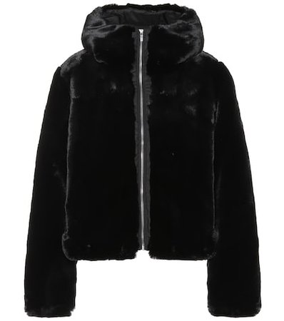 Mongie faux fur jacket