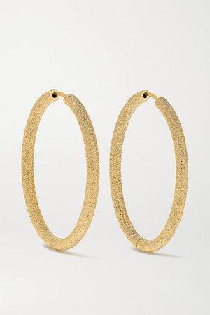 Carolina Bucci | Florentine 18-karat gold hoop earrings | NET-A-PORTER.COM